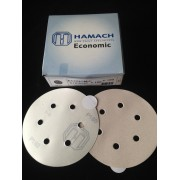 HAMACH Schleifscheiben Economic Stickup (klebend) ∅ 150mm 6-Loch 100 Stück