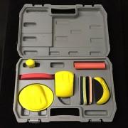 STARCHEM Hochwertiges 9 tlg. Handblock SET im Koffer Schleifklotz-Set Schleifblock