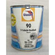 Glasurit Wasserbasislack 90-1250 Uni TIEFSCHWARZ 1 Liter