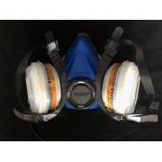 GERSON 9200E Mehrweg Atemschutz Maske Gr M medium FFA1B1, FFP2R