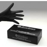 100 x Handschuhe Nitril schwarz Größe L - large puderfrei