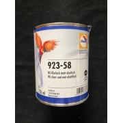Glasurit Klarlack matt elastisch 923-58 (alt 923-57) , 0,75 Liter
